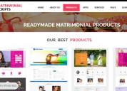 Readymade php matrimonial script