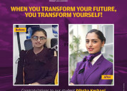 Want to become an air hostess join aptech noida
