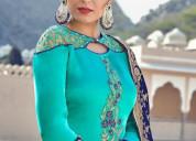 Top trending half saree designs for women