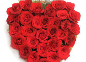 Send valentine rose day gifts online for her/him