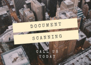 Documents scanning and documents digitization serv