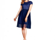 Shop fit and flare dress for party at flipkart