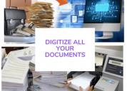 Documents digitization scanning service