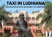 Taxi service in ludhiana by chiku cab