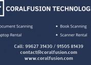 Laptop and scanner rental