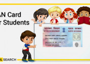 Pan card for students