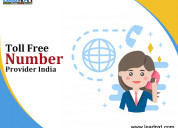Toll free number provider india
