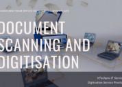 Documents digitization service provider