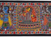 Hand made madhubani paintings