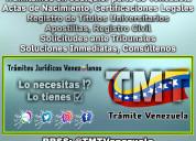 Documentación venezolana express