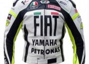 Yamaha motorcycle fiat petronas leather jacket
