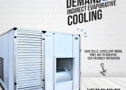 The rise in demand of indirect evaporative cooling
