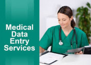 Outsource medical data entry services - maxbpo