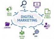 Digital marketing work fresher/working