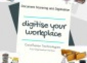 Documents digitization services.