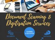 Document scanning and document digitization servic