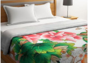 Get best queen size quilts online at 55% off