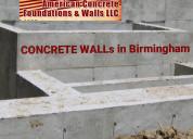 Concrete walls in birmingham 2021