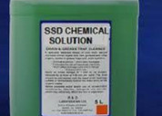 Universal ssd chemical solutions to clean notes