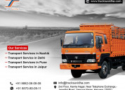 Mumbai to pune, nashik, delhi, bangalore transport