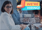 Job vacancy available