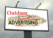 Outdoor media advertising service in india