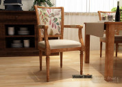 Find out amazing design of wooden chair at wooden