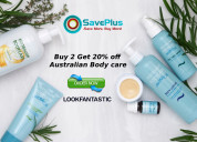 Buy 2 get up to 20% off on beauty products