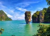 Krabi phuket and bangkok land tour package