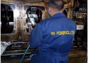 Onsite grinding and repair of crankshaft
