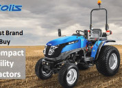 Best brand to buy compact utility tractors | solis