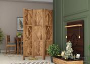Get ultimate offer wooden partition design