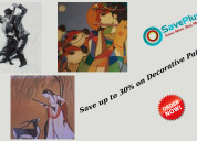 Mojarto: get up to 30% off on decorative paintings