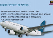 Looking for cabin crew training join aptech noida