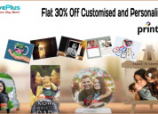 Flat 30% off customised and personalised gifts
