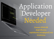 Urgently opening for application developer