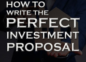 How to write the perfect investment proposal