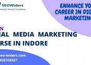 Social media marketing course in indore- seowiders