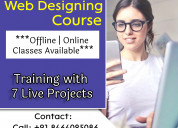 Web designing training institute in hyderabad
