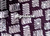 Buy solid dark purple chiffon fabric with aplic