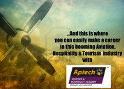 Airhostess training with 100% placements at aptech