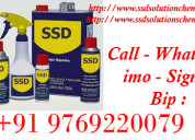 Ssd solution chemical and activation powder