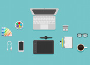 Graphic designing services on faidepro