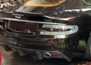 Aston martin dbs coupe rear bumper with diffuser