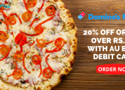 20% off orders over rs.500 with au bank debit card