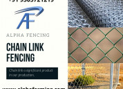 Pvc coated chain link fencing manufacturers