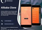 Alibaba clone app development company| omninos sol