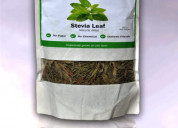 Green curation stevia leaves