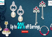 Flat up to 20% off earrings