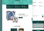Psd templates free download - html design